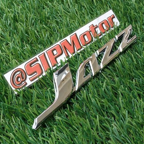 Foto Produk Emblem Tulisan New Jazz Honda Logo Belakang dari SIPMotor