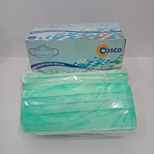 Foto Produk Masker COSCO non Medis 3 ply isi 50 dari The lash shop