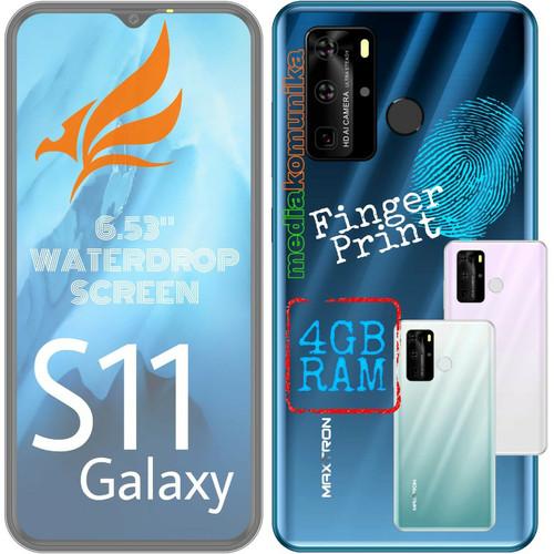 "Foto Produk Maxtron S11 Galaxy - Android 6,53"" 4G LTE - Ram 4GB + 32GB - GRS Resmi dari GP GUDANG PONSEL"