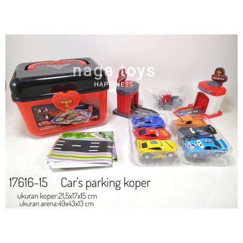 Foto Produk Mainan mobil Cars parking garasi / Cars garasi 6pcs dari naga_toys