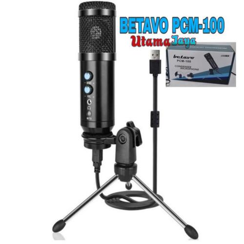 Foto Produk Microphone Condenser USB mikrofon with stand dari Istana Glodok