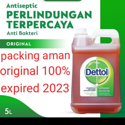 Foto Produk detol antiseptic 5 liter ready langsung kirim dari Barnaclestore