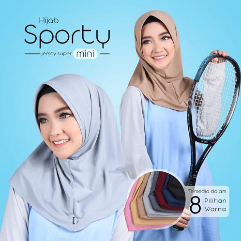 Foto Produk Jilbab Instan Mini Sporty Cocok Untuk Olahraga dari LAPAK HIJAB MARET