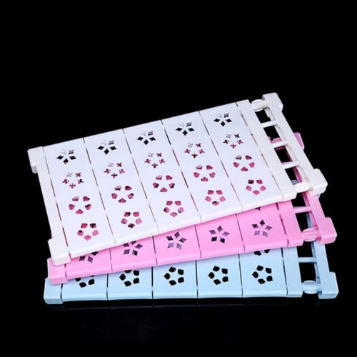 Foto Produk SEKAT LEMARI pakaian Flexible penyekat rak kabinet dapat dipanjangkan - Size 29-40 cm, Warna PUTIH dari ToKriAd
