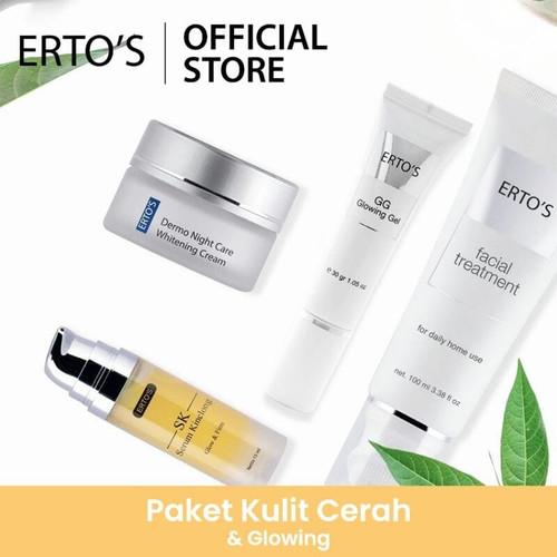 Foto Produk Paket Ertos Kulit Cerah dan Glowing. dari Erto's Official Shop
