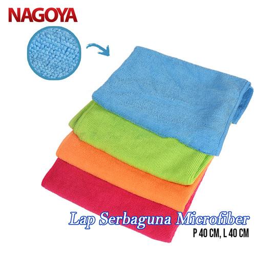 Foto Produk Lap Mobil Microfiber Lembut Tebal Serbaguna 40x40 NAGOYA 501 - Hijau dari Tchome Official Store