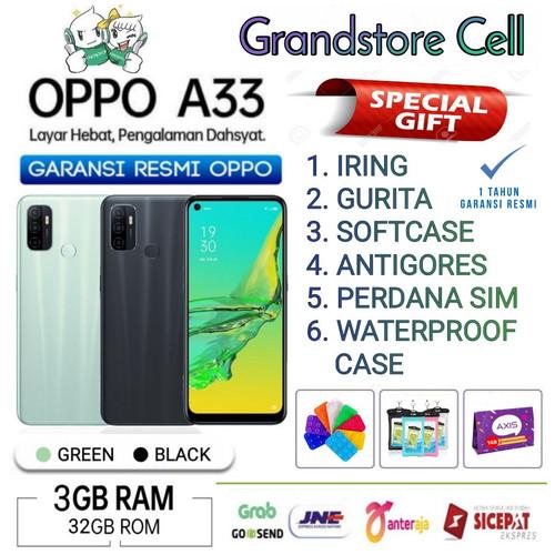 Foto Produk OPPO A33 RAM 3/32 GB GARANSI RESMI OPPO INDONESIA - Demo Tanpa Dus dari Grandstore cell