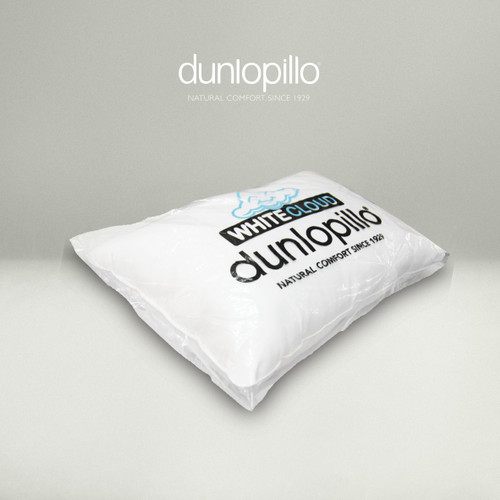 Foto Produk White cloud Polyester Fibre Pillow Dunlopillo Spec Hotel dari DUNLOPILLO