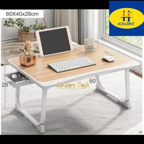 Foto Produk Meja lipat laci laptop belajar Ichijiro New edition - C5 Apple Wood dari Re-born Tech