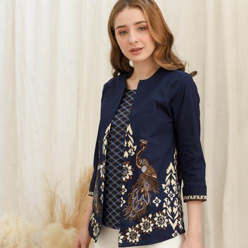 Foto Produk Maja - Busan Blouse Batik Wanita - Standard dari Lustopia_Collection