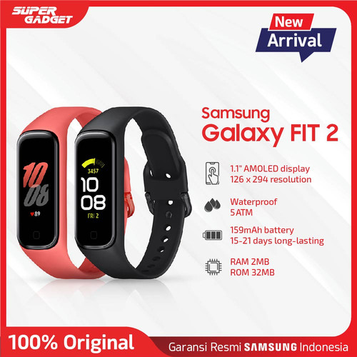 Foto Produk Samsung Galaxy Fit 2 Original - Garansi Resmi - Scarlet dari SUPER_GADGET