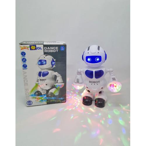 Foto Produk MAINAN ANAK ROBOT DANCING MUSIC LIGHTING COOL DANCE ROBOT NO.5905B dari EAZYTOYS
