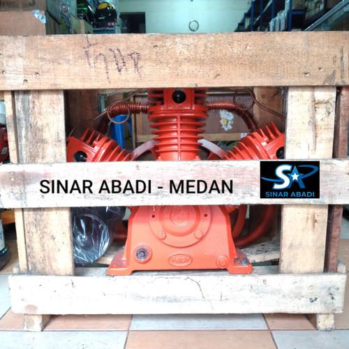 Foto Produk KEPALA BARE BAR KOMPRESSOR COMPRESOR KOMPRESOR 5HP 5 HP SHARK dari Sinar Abadi Medan