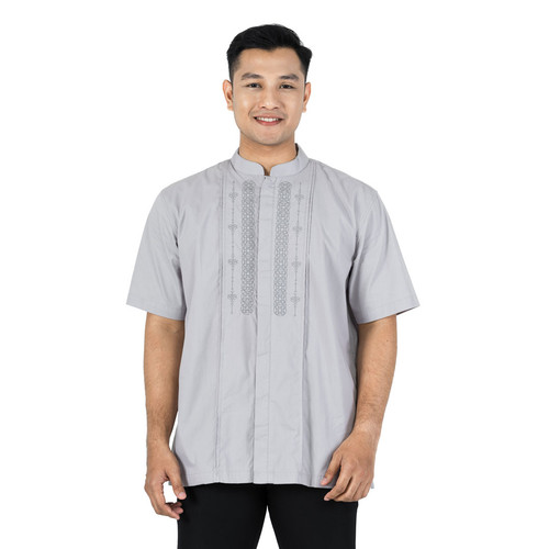 Foto Produk Zatta Men Koko Abi Zerlin - Silver Grey, S dari Zatta Men Official