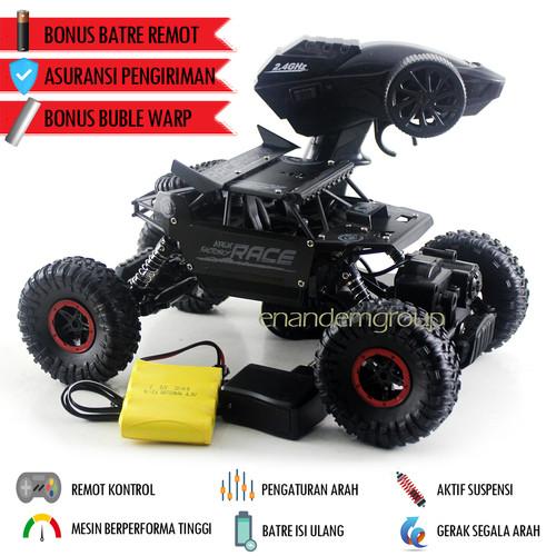 Foto Produk Mainan Mobil Offroad Remote Control Rocks Crawler - Hitam dari Mafemale