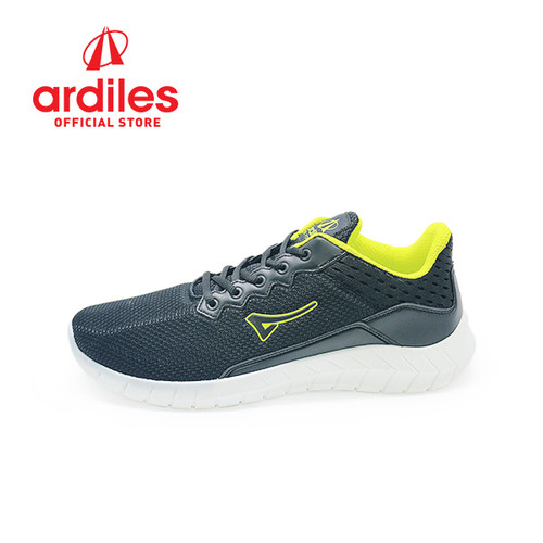 Foto Produk Ardiles Men Lacasate Sepatu Running - Hitam Citrun - Hitam Citrun, 41 dari Ardiles Official Store