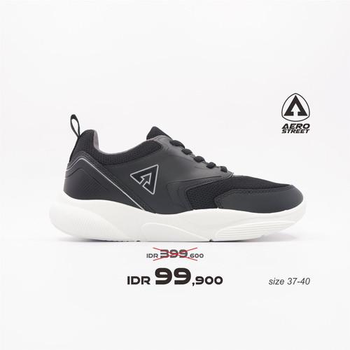 Foto Produk Aerostreet 37-40 Cherry Hitam Abu - Sepatu Sneakers Sport Wanita - 38 dari Aerostreet
