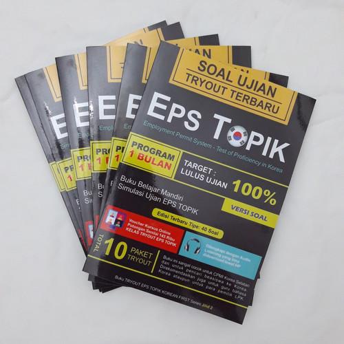 Foto Produk TRYOUT EPS TOPIK Terbaru (Versi Soal) dari Korean First Official