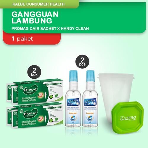 Foto Produk Paket Promag Cair (Suspensi) X Handy Clean Hand Sanitizer dari Kalbe Consumer Health