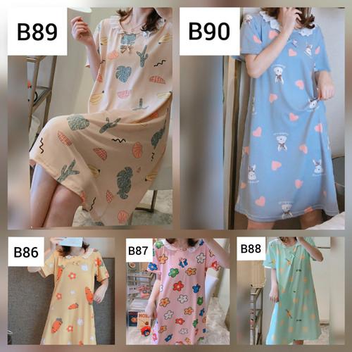 Foto Produk Daster Renda Import Baju Tidur Renda Import Home Dress Renda Import - B86, L dari ada shop888