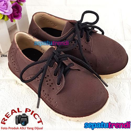 Foto Produk Sepatu Anak Laki Bahan Jelly Karet Import Keren Ukuran 24-29 JLSPTTL dari Sepatu Trendi