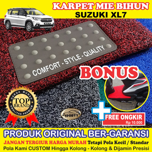Foto Produk SUZUKI XL7 Full Bagasi - Bahan 1 Warna dari KARPET MOBIL SPORTY