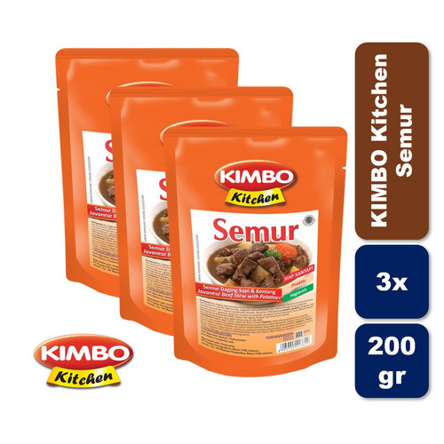 Foto Produk Kimbo Kitchen Semur Triple Pack dari KIMBO