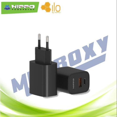 Foto Produk Adapter Charger Hippo Dynamic QC 3.0+PD 18W dari mmcroxy.onlineshop