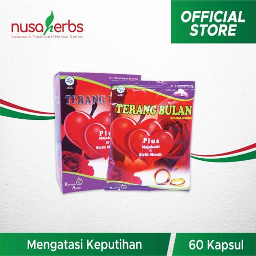 Foto Produk Herbal Keputihan TERANG BULAN Plus Majakani & Sirih Merah dari Nusaherbs