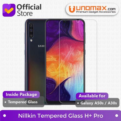 Foto Produk Tempered Glass Galaxy A50s / A30s Nillkin Anti Explosion H+ Pro dari unomax