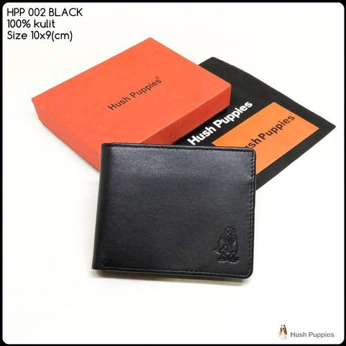 Foto Produk dompet pria hush puppies 002 Black premium dompet kulit dompet murah dari Exist Bag Store