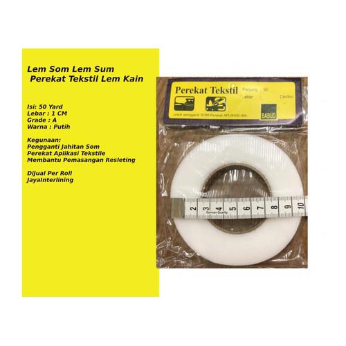 Foto Produk Perekat Tekstil Lem Kain Lem Som Lem Sum Perekat TEKSTILE TMURAH dari JAYA INTERLINING
