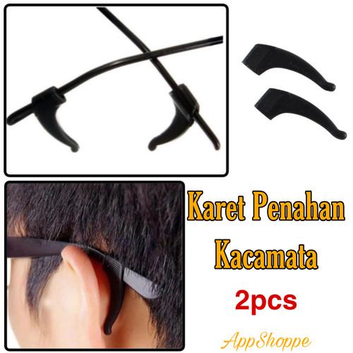 Foto Produk Karet Penahan Belakang Telinga Kacamata Silicon Sunglasses 2pcs dari ZetiraCollection