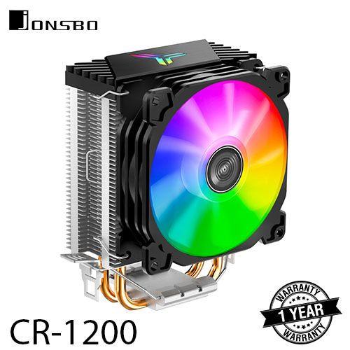 Foto Produk JONSBO CR-1200 CPU Fan Cooling / HSF Cooler RGB dari BMS Group Tech