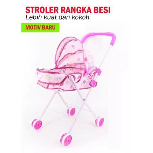 Foto Produk MAINAN BABY STROLER RANGKA BESI dari STAR TOY's