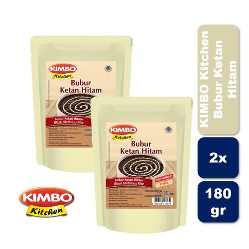 Foto Produk Kimbo Kitchen Ketan Hitam Twin Pack dari KIMBO