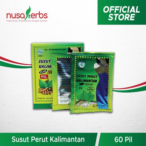 Foto Produk Pelangsing Alami - Susut Perut Kalimantan Pil dari Nusaherbs