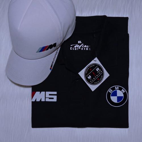 Foto Produk Kaos Polo BMW M5 - POLYFLEX PREMIUM dari Miw Clothing