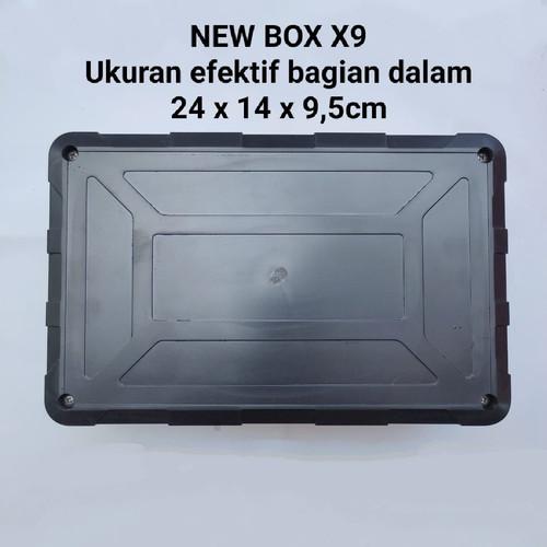 Foto Produk New Box X9 Serba Guna untuk Custom Elektro/Elektronik 24 x 14 x9,5cm dari Sinar Indah Produk