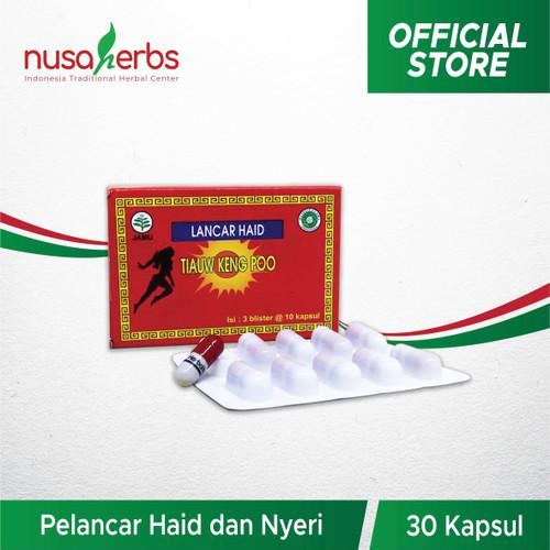 Foto Produk Lancar Haid TIAUW KENG POO blister dari Nusaherbs