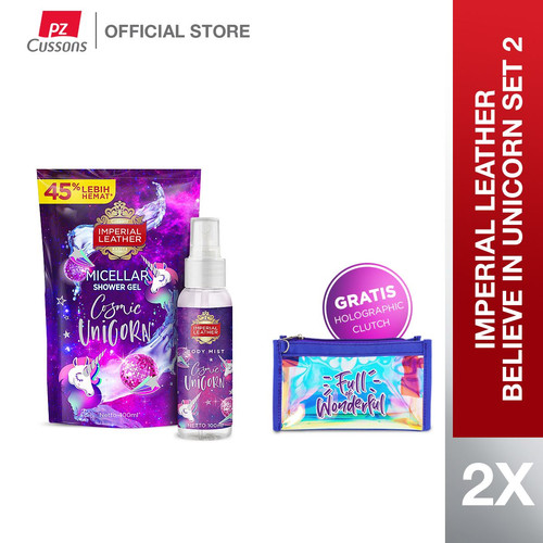 Foto Produk Imperial Leather Believe in Unicorn Set 2 dari Cussons Official Store