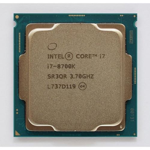 Foto Produk PROCESSOR INTEL CORE I7 8700K TRAY LGA 1151 dari iconcomp