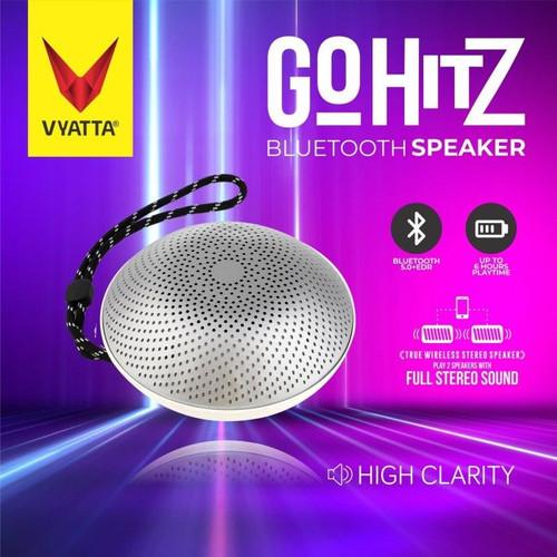 Foto Produk VYATTA GO Hitz TWS Speaker - Stereo, Bluetooth, USB/TF-MEGA BASS - SATIN SILVER dari VYATTA INDONESIA