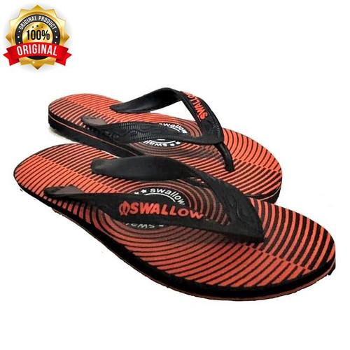 Foto Produk Sandal / Sendal Jepit Swallow Target / Sendal Pantai Size 39-42 Murah - Orange, 39 dari Putra Utama Manunggal