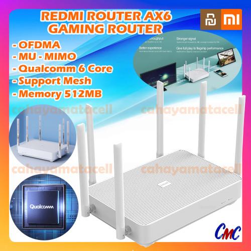 Foto Produk Xiaomi Redmi AX6 Wifi6 Router Gaming 512mb Mesh Wifi 6 AX 6 dari CMC Gadget Store