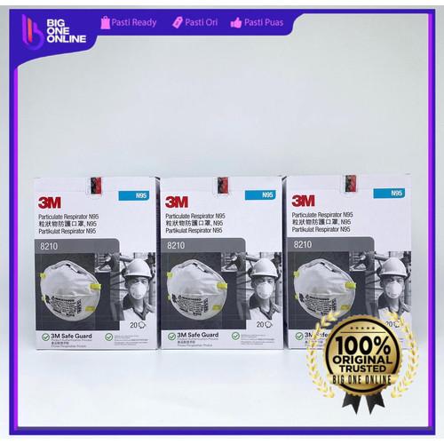 Foto Produk Masker 3M 8210, Masker 3M N95, Masker 8210 bukan 1860 ORIGINAL 100% dari BigOneOnline