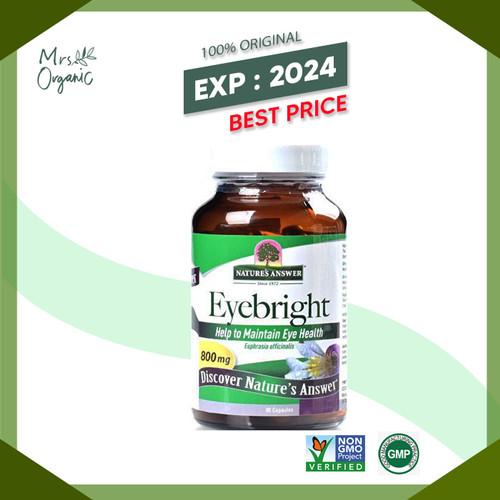 Foto Produk Eyebright Herb Nature's Answer 90 VCaps dari Mrs Organic