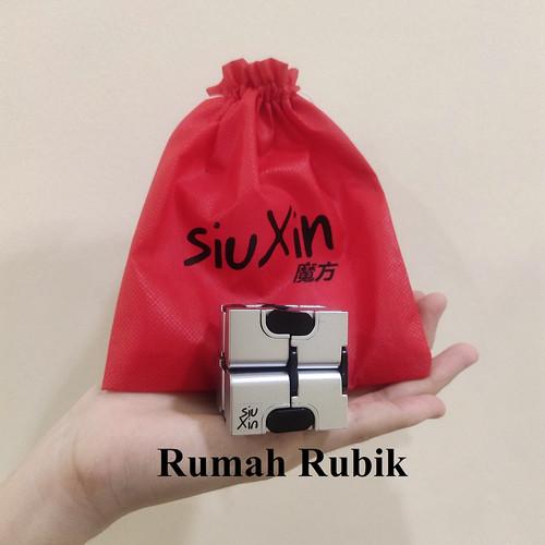 Foto Produk Kubus SiuXin Infinity Cube / Rubik Murah - Silver dari Rumah Rubik