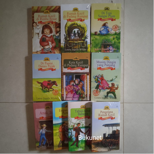 Foto Produk Little House - Seri Laura (12 Buku) - Laura Ingalls Wilder dari Bukunet