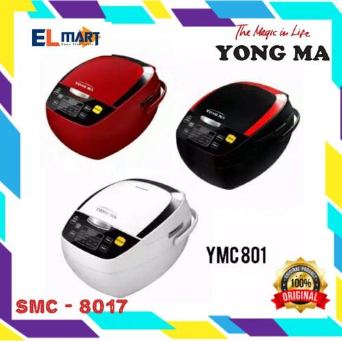 Foto Produk magic com digital 2L YONGMA SMC 8017 /rice cooker eco ceramic SMC8017 - Merah dari elmart